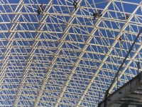 Coal Shed In Space Frame