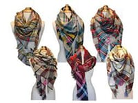 Yarn Dyed Silk Scarves
