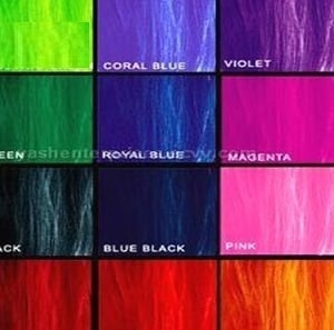 Reactive Hot Brands Dyes