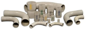 Upvc Pressure Pipe Fabricated Fittings