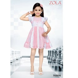 Kids Pink Baby Frock