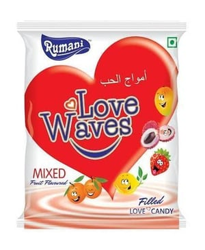 Rumani Mix Fruit Flavored Love Candy