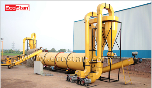 High Performance Rotary Drum Dryer