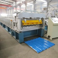High Quality Step Tile Roll Forming Machine With CE,SGS