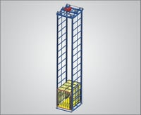 Four Post Vertical Reciprocating Conveyors