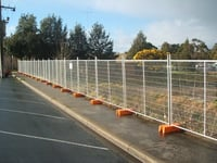 Easy Portable Mobile Temporary Fence