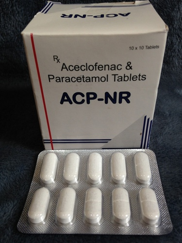 Aceclofenac And Paracetamol Tablets (ACP-NR)