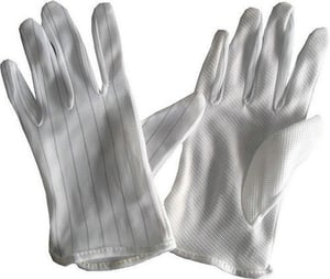 Pvc Dotted Anti-Static Gloves