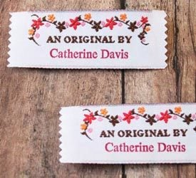 Shirt Embroidered Labels