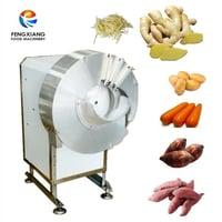 Electric Automatic Ginger Slicing And Shred Cutting Machine