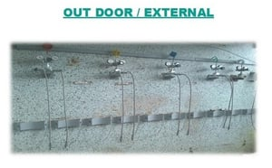 Outdoor Gas Distribution System