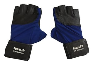 Gym Gloves With Palm Support Wrist Protection Fingerless Sports Gloves