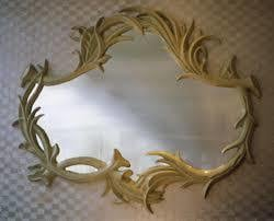 Brass Mirror Frame For Wall Decoration