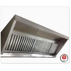 Stainless Steel Exhaust Hoods for Hotels and Restaurants