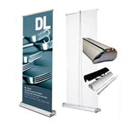 Roll Up Deluxe Standee