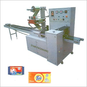 Industrial Flow Wrap Soap Packing Machine