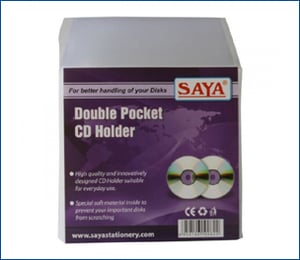 Double Pocket CD Cover