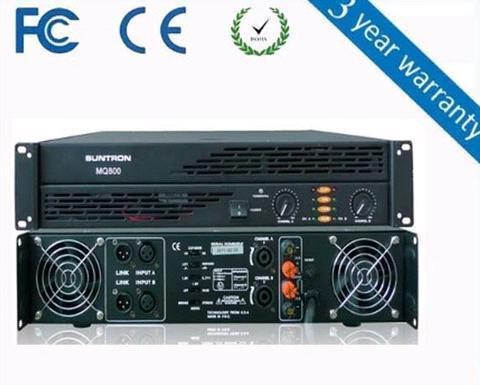 MQ Series Professional Amplifier