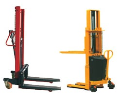 Manual and Semi Electric Stacker