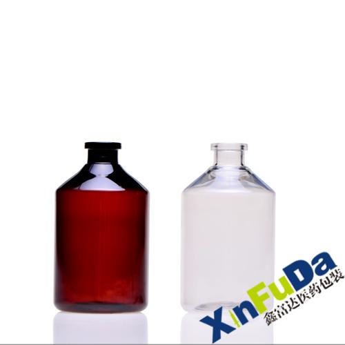 PET Amber And Transparent Medicine Bottles