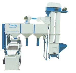 Wheat Grain Cleaning Plant