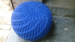 Knitted Puff