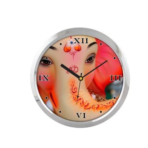 Exciting Colors Printed Wall Clock