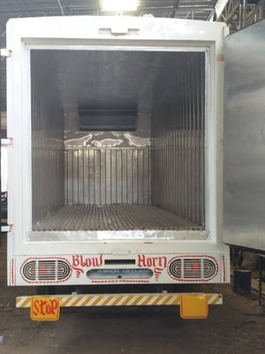 Stainless Steel Refrigerated Body