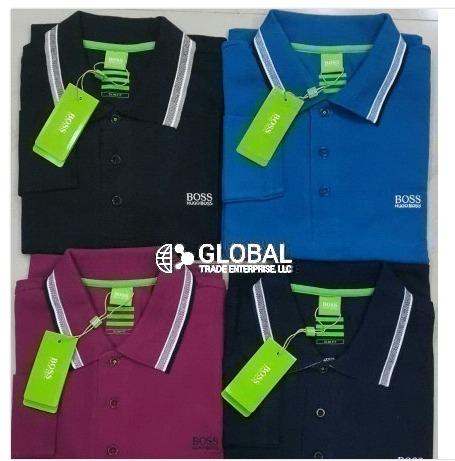 Long Sleeve Polo T Shirt for Men