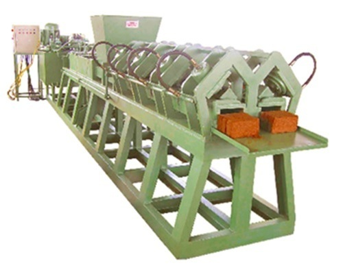 Cocopeat Briquette & Block Making Machine