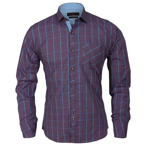 Mens Styles Blue Shirts