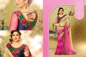 Attractive Polyester Saree