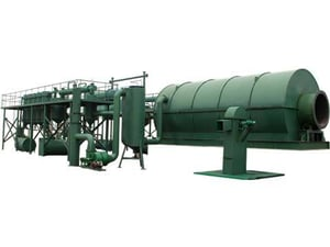 Continuous Type and Plastic Pyrolysis Plants
