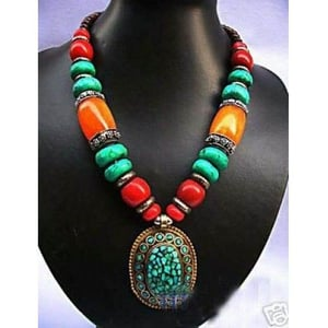 Unique Fashionable Pendant With Beads