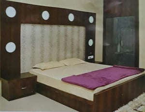 Customised King Size Bed
