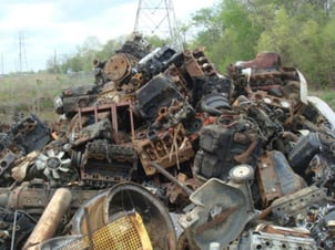Steel Engines and Transmission Scrap