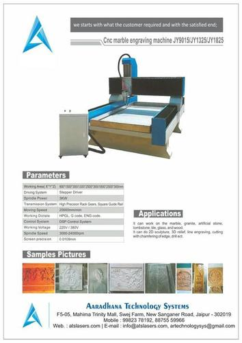 CNC Marble Engraving Machines in  New Sanganer Road
