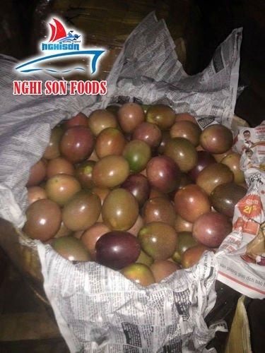 Fresh Passion Fruit Certifications: Phyto