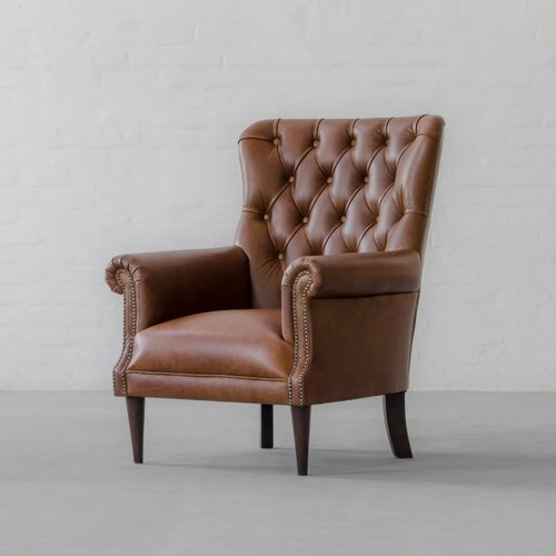 Silvester Luxury Leather Armchair