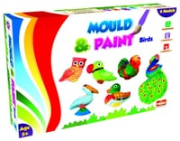 Mould and Paint Birds DIY Creative Painting