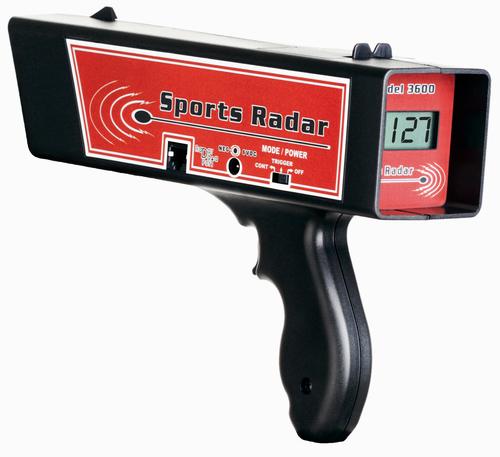 SR3600 Sports Radar Speed Gun
