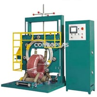 Wrapping Machine For Plastic Pipe And Hose
