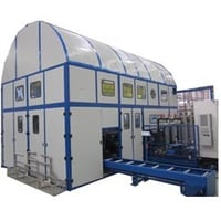 Multistage Ultrasonic Cleaning Machine
