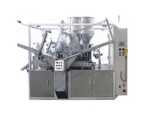 Gz05b Automatic 2-Color Toothpaste Filling And Sealing Machine in   Huishan District