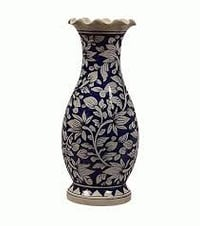 Handmade Blue Pottery