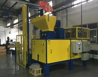 Hydraulic Metal Chip Briquetter