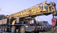 Used Telescopic Truck Mounted Cranes