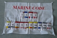 Maritime Signal Set 14 Flag With Case Cover