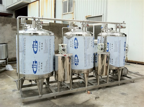 Industrial Cip Cleaning System