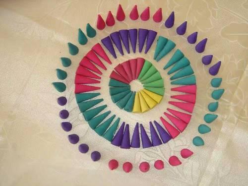 Natural Color Cones Agarbatti